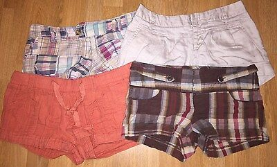 Lot of 4 Women's Shorts - Size 3 S - Charlotte Ruse, Forever 21,