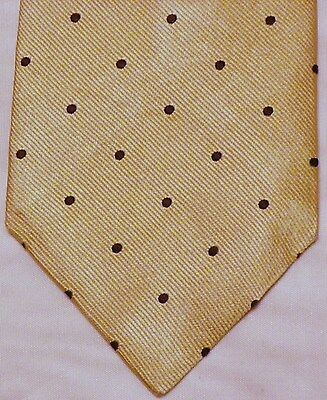 BROOKS BROTHERS [ MAKERS ]  men's tie 100% Silk Made in USA