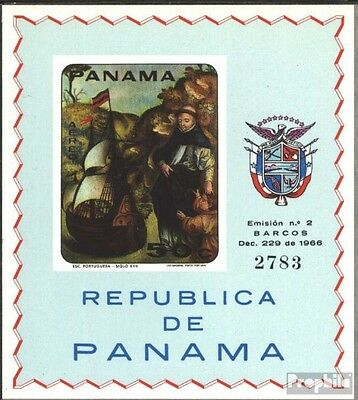 Panama block90b (complete issue) unmounted mint / never hinged 1968 Sailboats on