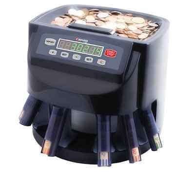 Coin Counter and Sorter Electronic Machine Money LED Display Digital Quiet Adds