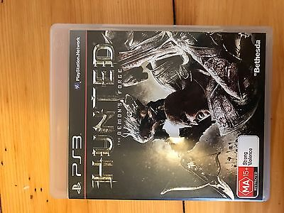 PS3 Hunted The Demons Forge Playstation 3 Game