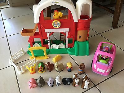 Fisher Price Little People Farm + Car