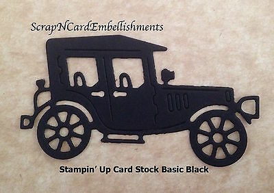 • • • Die Cuts ~ 'OLD CAR' - x10 ~ Stampin' Up Card Stock ~ Cards ~ Scrapbooking