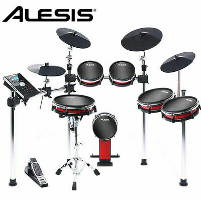 Alesis Crimson II Mesh Head 6pce Electronic Drum Kit  Drumset with 3x cymbals