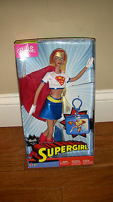Barbie Supergirl In Box New Never Used