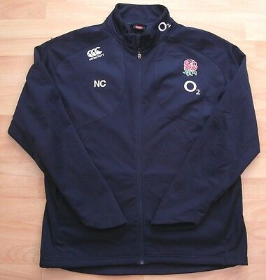 England Canterbury Rugby Training Warm Up Tracksuit Jacket Top Xxl Adult 'nc'
