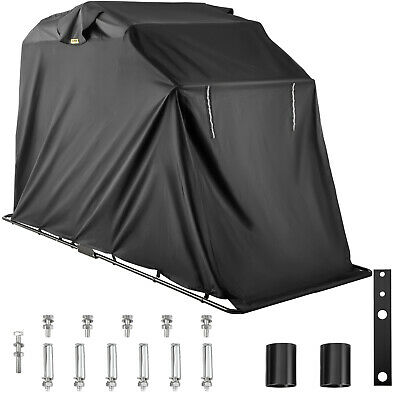 Portable Waterproof Sport Bike Motorcycle Garage Shelter Tent Cover Frame
