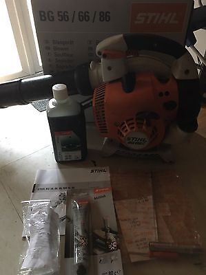 Stihl BG86c Handheld Blower, Used But Great Condition-Enlarge Photos!!