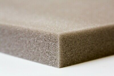 Grey Upholstery Foam Cushions Sheets | Foam Seat Pads | Many Sizes Available