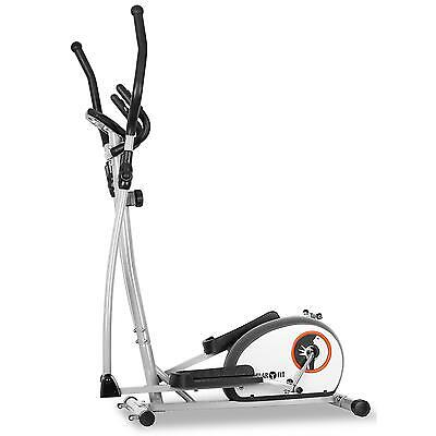 Neu Klarfit Fitness Workout Heimtrainer Crosstrainer Ergometer Trainingscomputer