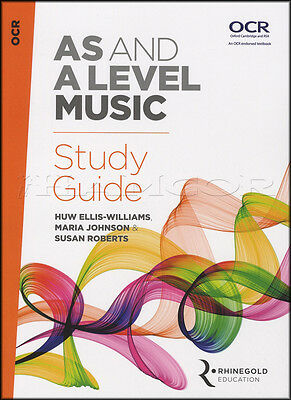 AS and A Level Music Study Guide OCR Sheet Music Book Theory From 2016