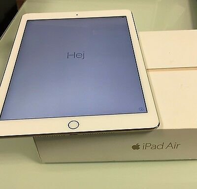 Apple iPad Air 2 32GB  WiFi Cellular (Open Network) 9.7in Gold