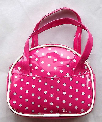 Pink with White Spots, Doll Handbag 4 Zapf Baby Born / Baby Alive