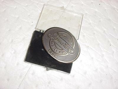 Rare 1996 John Deere Signature Dealer Belt Buckle NEW OLD STOCK  Mint Free Ship