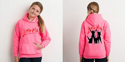 Little Mix Electric Pink Hoodie