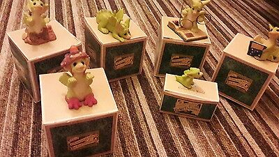 Collection of 6 Pocket Dragons. With Boxes.