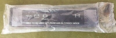 Land Rover Wolf Warning Light Blackout Cover Assembly.