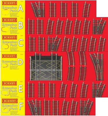 HORNBY Track Packs - Choose from the list