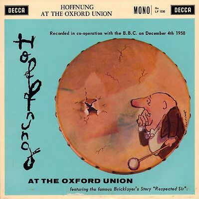 "Hoffnung(10"" Vinyl)At The Oxford Union-Decca-LF 1330-UK-1960-Ex/Ex"