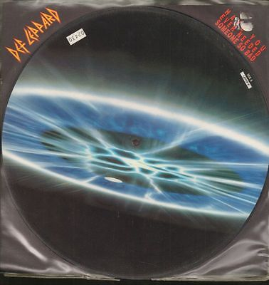 "Def Leppard(12"" Vinyl Picture Disc)Have You Ever Needed Someone Bad-Blu-Ex/NM"