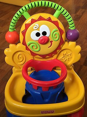 Trotteur clown Fisher Price 2 en 1