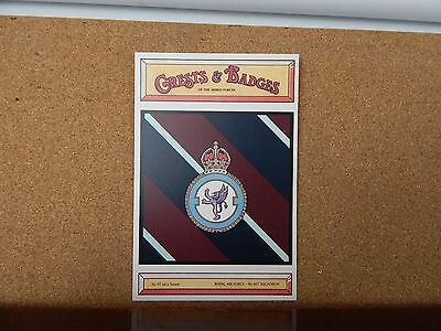 Royal Air force 607  Squadron Crests & Badges of  the Armed services sqaudron