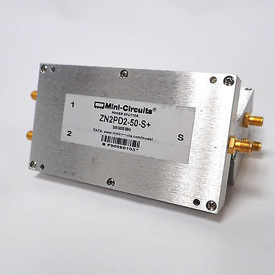 MINI-CIRCUITS Zn2PD2-50-S+ 500-5000 MHz DC PASS POWER SPLITTER / COMBINER ROHS