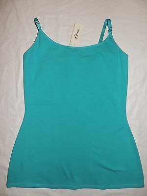 Nwt Soma Intimates Essentials Cotton Cami Daywear Cami Top Poolside Turquoise S