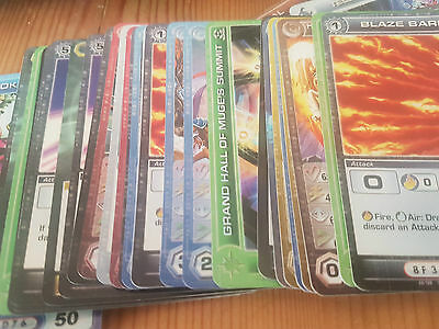 Job Lot of 66x Chaotic TCG Super Rare Game Cards - NM