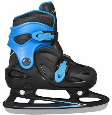 Playlife Kids Adjustable Ice Skates Cyclone – Blue