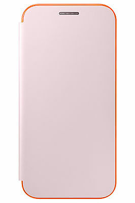 ef-fa530 Bright Genuine Samsung Galaxy A8 Neon Flip Cover Phone Case New Orchid Gray