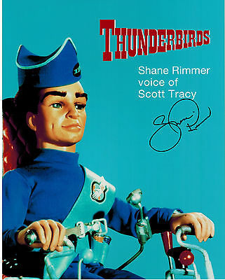 SHANE RIMMER Thunderbirds Tracy Original Hand Signed Autograph 8x10 Photograph 2