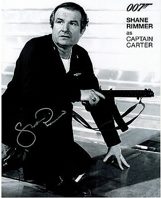 SHANE RIMMER James Bond Original Hand Signed Autograph 8x10 Photograph 2