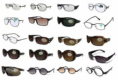 Bifocal Glasses and Sunglasses End of Line Sale Round Square Aviator Styles