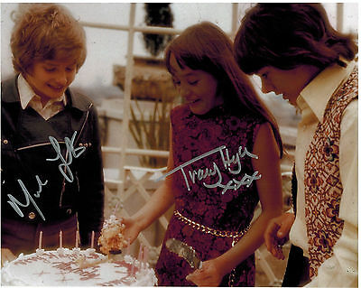 MARK LESTER & TRACY HYDE - MELODY - Signed Autograph 8x10 Photograph