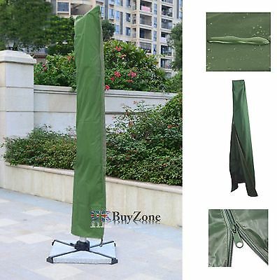 Large Parasol Cover With Zip Weatherproof Waterproof Umbrella Protective Cover