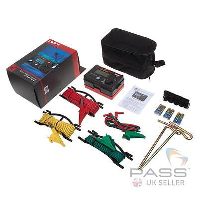 UNI-T UT521 Digital Earth Resistance Tester / Genuine UK Stock and Seller!!!