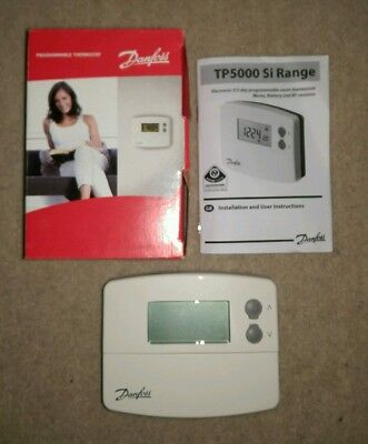 Danfoss TP5000Si 2/5 Day Programmable Room Thermostat 087N791000