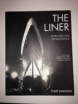"""""""The Liner"""" Queen Mary  Titanic Ocean Liners Book"""