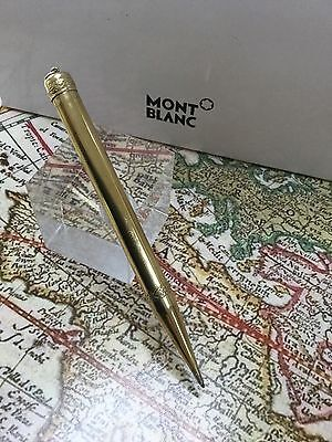 Montblanc NO1 Propelling Pencil Vintage Early 1910's - 1920's 18K Gold Overlay