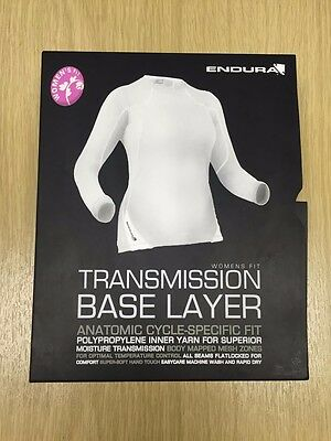 Endura Transmission Womens long sleeve Cycling Base Layer, Was £26 Save Today!