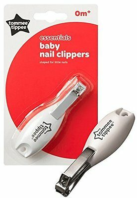 Tommee Tippee Newborn Baby Infant Manicure Safety Nail Clipper Cutter Grooming