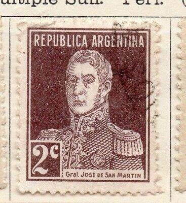 Argentine Republic 1923 Early Issue Fine Used 2c. 134487