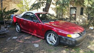 1994 Ford Mustang GT Convertible 2-Door 1994 Ford Mustang GT Convertible - 4 speed Automatic - 156k miles