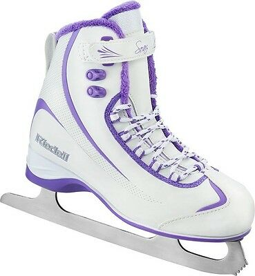 Riedell 625 Soft Ice Skates Womens Figure Skates Size 7 or 8