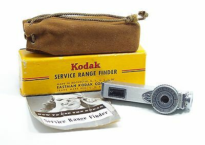 Vintage Eastman Kodak Service Range Finder Meter Store Box Pouch Made in U.S.A
