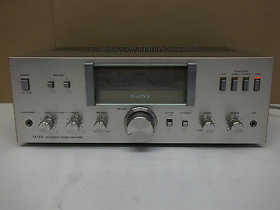 Very Rare Sony TA-313 Integrated Stereo Amplifier Silver - Made in Japan