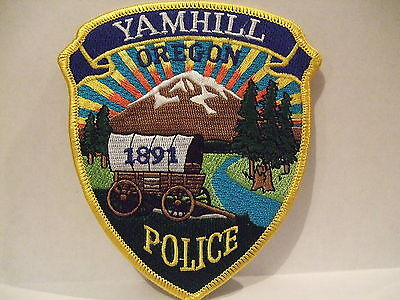 police patch   YAMHILL POLICE OREGON