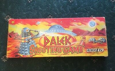 Marx Dr Who And The Daleks Dalek Shooting Game Boxed 1960s vintage