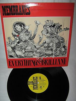 "The Membranes-Everything`s Brilliant 12"" EP 1986"